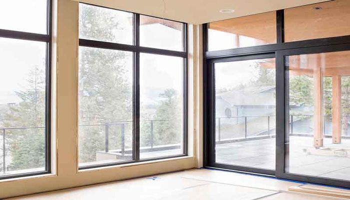 پنجره دوجداره کشویی تک ریل و دوبل ریل