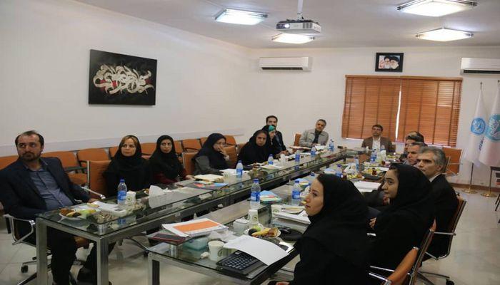 نشست پارک علم و فناوری دانشگاه تهران و مرکز تحقیقات راه، مسکن و شهرسازی در راستای افزایش همکاری های دوجانبه