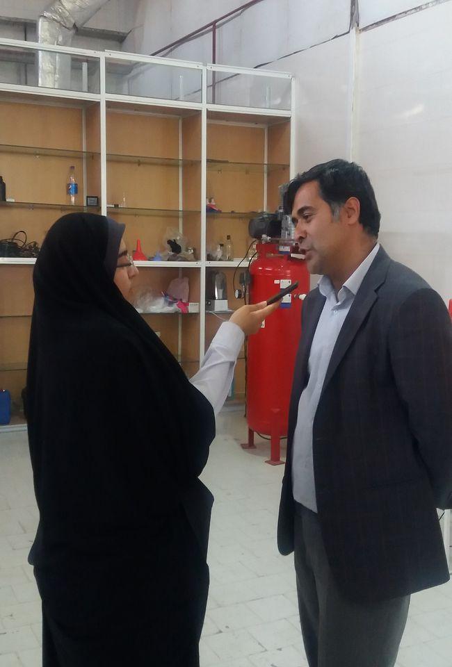 بازدید معاون پژوهش و فناوری وزارت علوم، تحقیقات و فناوری از پارک خراسان