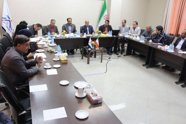 بازدید  اعضای هیات نظارت، ارزیابی و تضمین استان از پارک علم و فناوری البرز