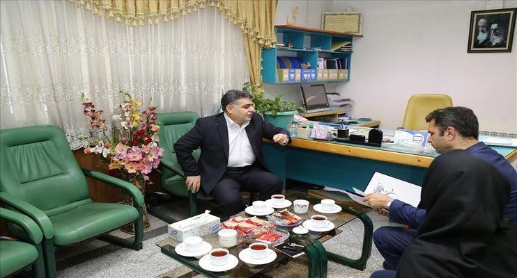 حضور و دیدار رئیس بانک تجارت استان گیلان در پارک علم و فناوری گیلان