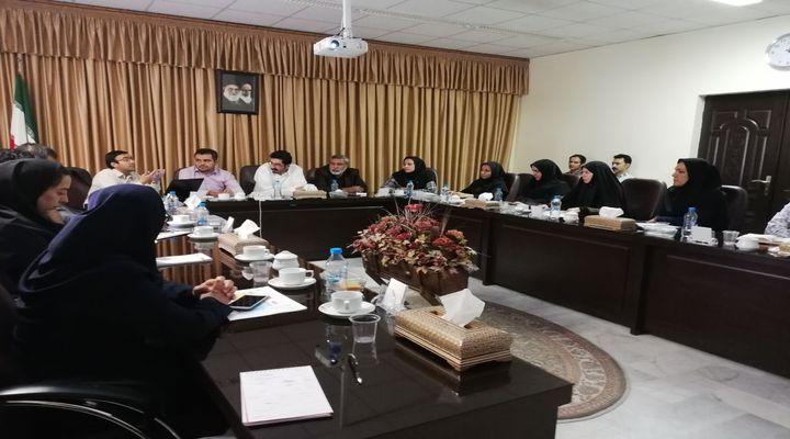 برگزاری جلسه توجیهی حقوق شهروندی و تکریم ارباب رجوع در پارک خراسان