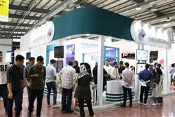 استقبال گسترده بازدید کنندگان از غرفه  پارک علم و فناوری مازندران در اولین روز از بیست و پنجمین دوره نمایشگاه الکامپ