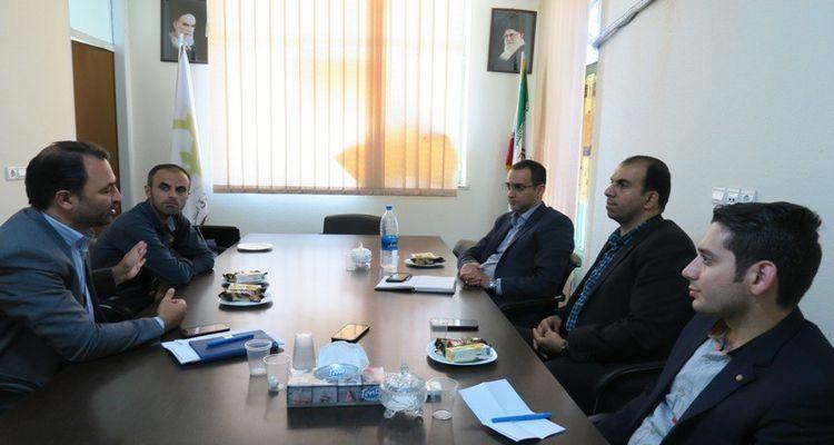 بازدید رئیس پارک علم و فناوری گلستان از مرکز رشد واحدهای فناور شرق استان