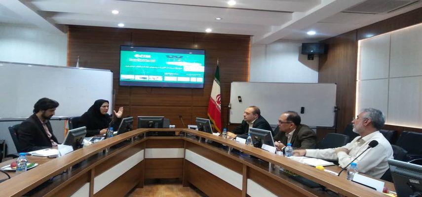 برگزاری جلسه مشترک مرکز تحقیقات آب و فاضلاب مشهد با مرکز رشد انرژی پارک خراسان