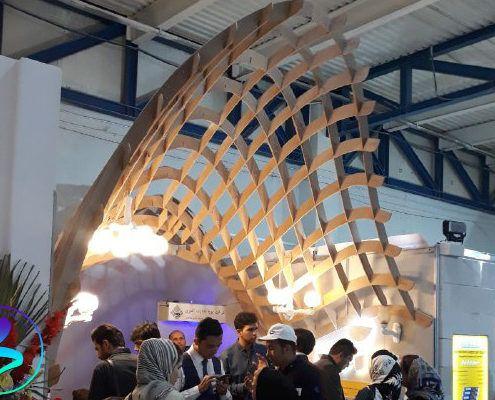 حضور در نوزدهمین نمایشگاه بینالمللی صنعت ساختمان