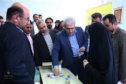 بازدید معاون علمی و فناوری رئیس جمهوری از مرکز رشد شهرستان تنکابن