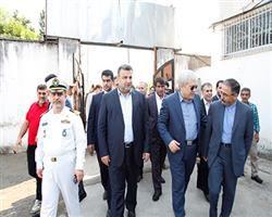 معاون علمی و فناوری رئیس جمهور از مرکز رشد نوشهر بازدید نمود