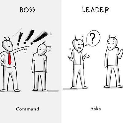تفاوت های مدیریت با رهبری