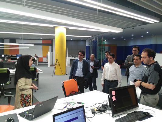 بازدید مدیران شرکت دیجیکالا و دیجیکالا نکست از شتابدهنده و استارتاپ استودیو سورس