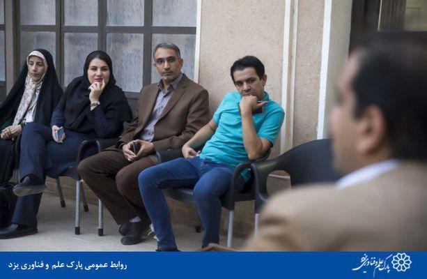گزارش تصویری حضور داریوش پورسراجیان رئیس پارک علم و فناوری یزد در خانه مطبوعات استان به مناسبت روز خبرنگار