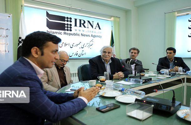 به مناسبت روز خبرنگار؛ بازدید هیات رئیسه پارک علم و فناروی فارس از خبرگزاری ایرنا