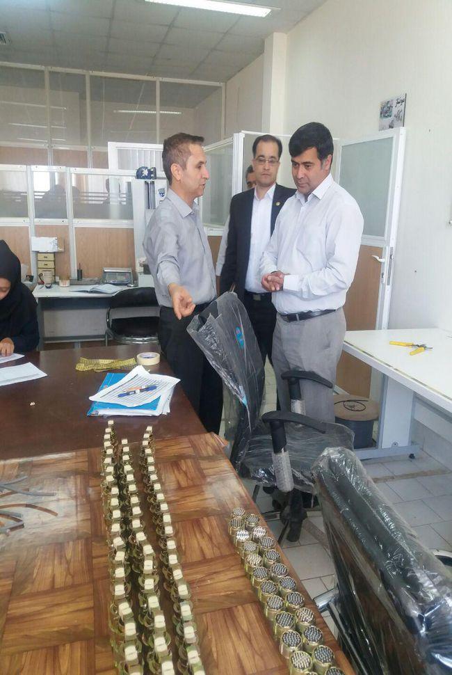 فی مابین پارک علم و فناوری خراسان و شرکت کارن افزار نوید پارسیان