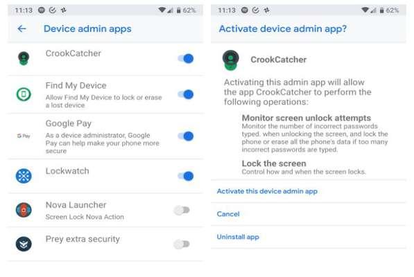 سه اپلیکیشن برای شناسایی افرادی که قصد بازگشایی گوشی شما را داشتهاند