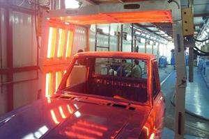 خشک کردن رنگ بدنه خودرو با استفاده از امواج مادون قرمز محقق شد