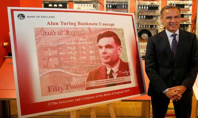 تصویر آلن تورینگ روی اسکناسهای ۵۰ پوندی نقش میبندد