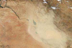 با مدیریت منابع آبی شدت طوفان های گرد و غبار را کاهش دهیم