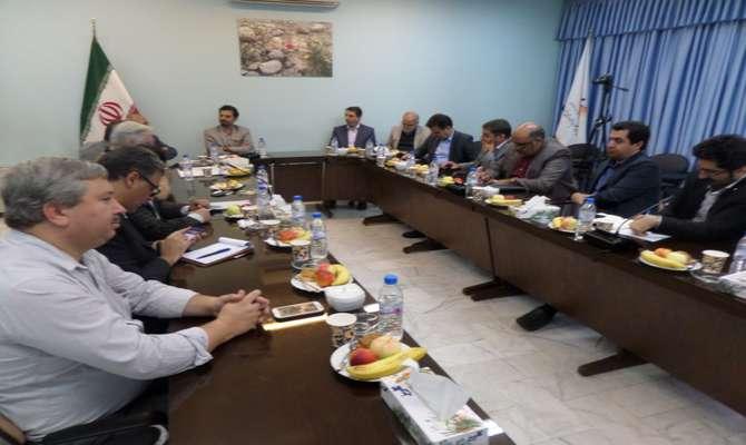 بازدید هیات مدیره خانه صنعت و معدن استان از شرکت دانش بنیان پدیده انرژی پارسیان