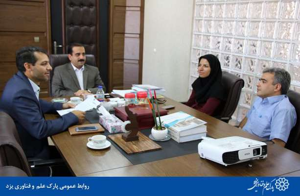 گزارش تصویری دیدار و ملاقات های مردمی با رئیس پارک علم و فناوری یزد(طرح درهای باز)
