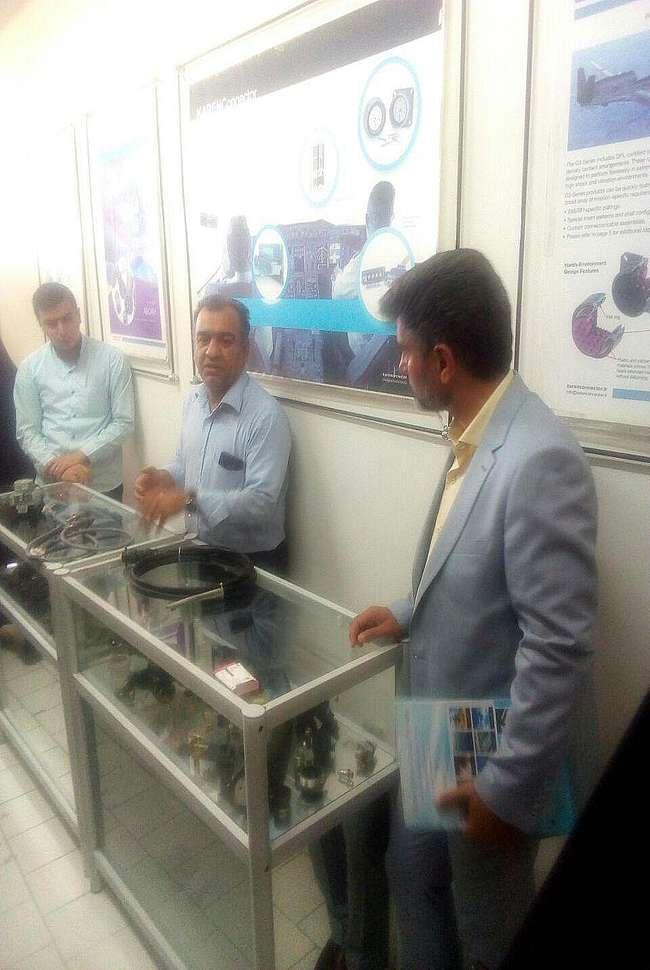 بازدید ۲۶۸ جهادگر کارآفرین از ۸ شرکت منتخب پارک علم و فناوری خراسان