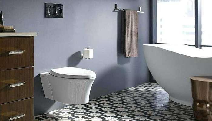 مزایا و معایب توالت فرنگی دیواری