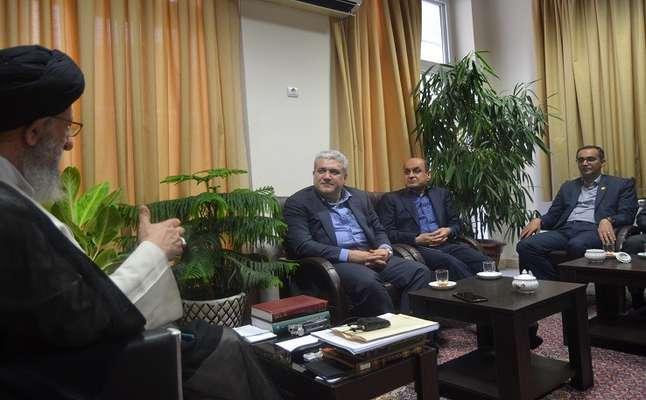 دیدار معاون علمی و فناوری ریاست جمهوری با نماینده ولی فقیه در استان گلستان