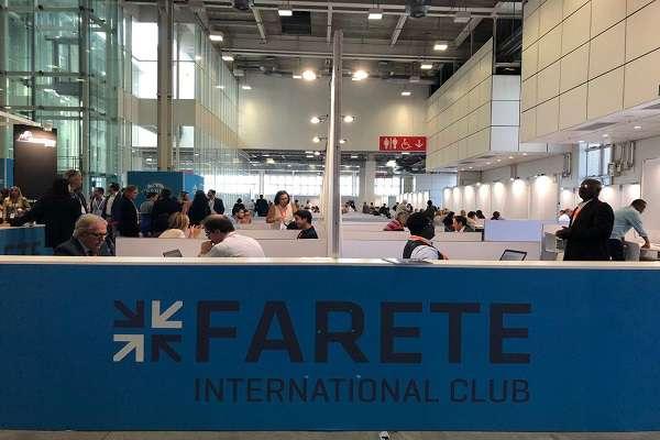 حضور شرکت درایت پویان نسل آفتاب(مستقر در پارک علم و فناوری یزد) در نمایشگاه farete ایتالیا