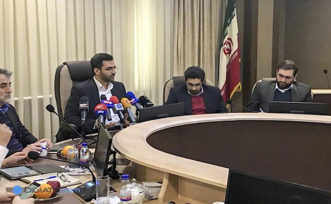 نشست آذری جهرمی با فعالان کسب و کارهای نوپا
