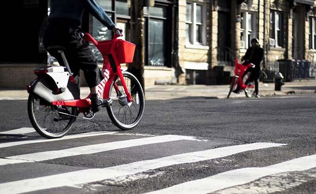 ورود اوبر به حوزه اشتراکگذاری دوچرخه