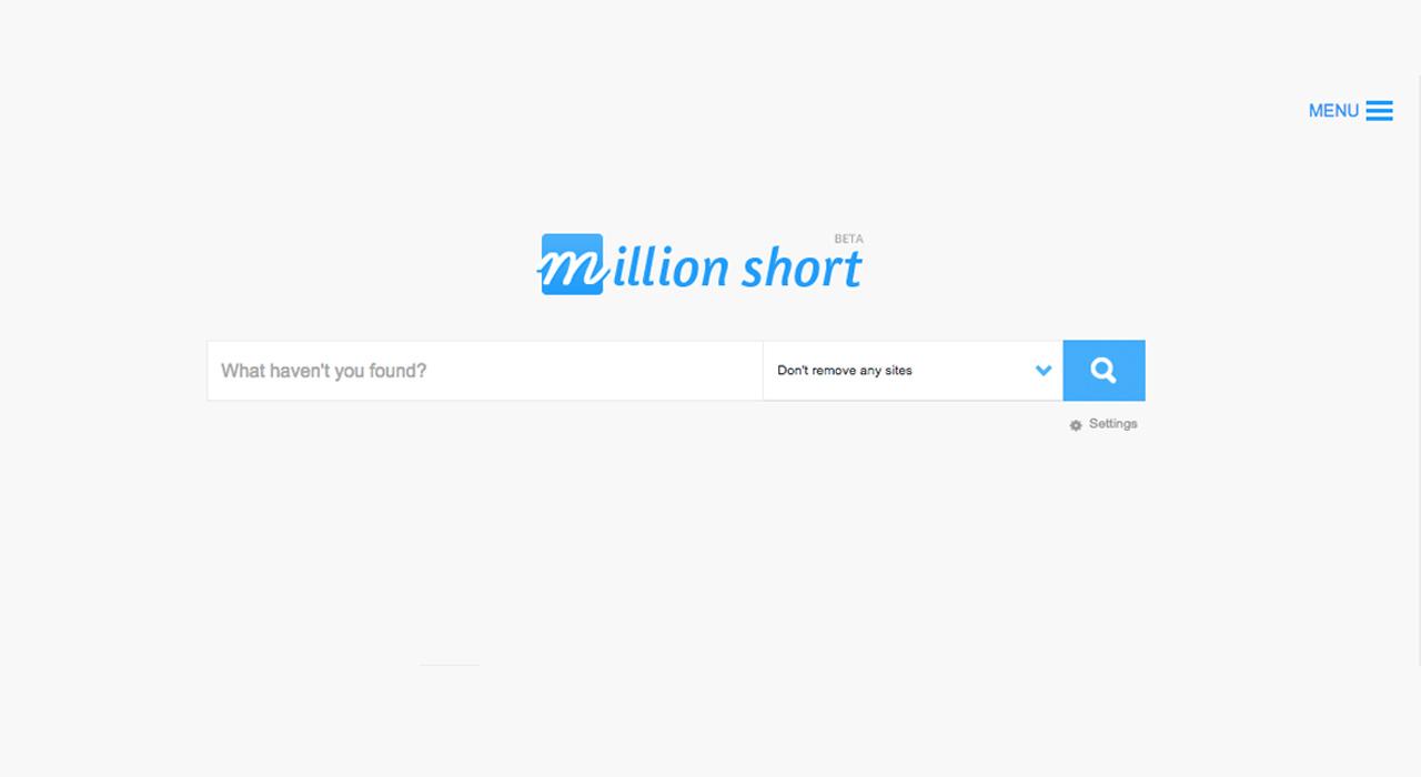 موتور جستجوی Million Short تهدیدی جدید برای گوگل