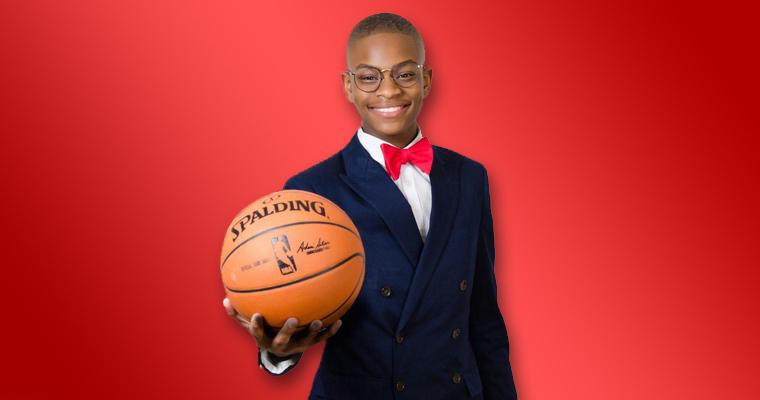 مدیر عامل ۱۵ ساله ای که با NBA قرارداد هفت رقمی امضا کرد