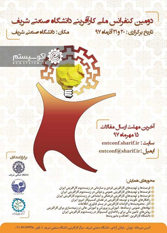برگزاری دومین کنفرانس ملی کارآفرینی
