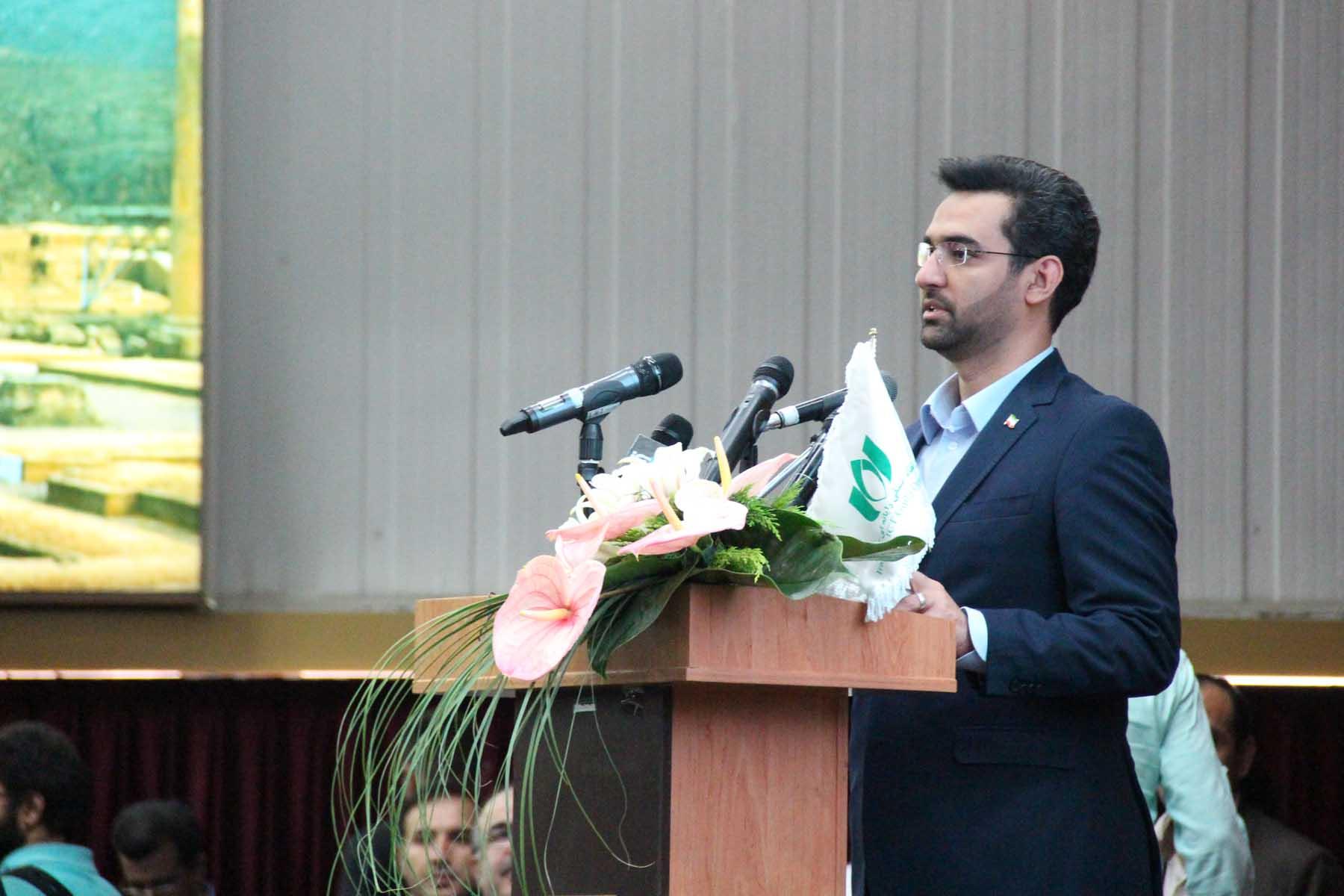 سخنرانی وزیر ارتباطات و فناوری اطلاعات در افتتاحیه الکامپ 2018