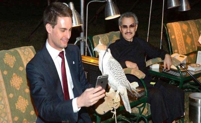 سرمایهگذاری یک شاهزاده سعودی در اسنپ چت