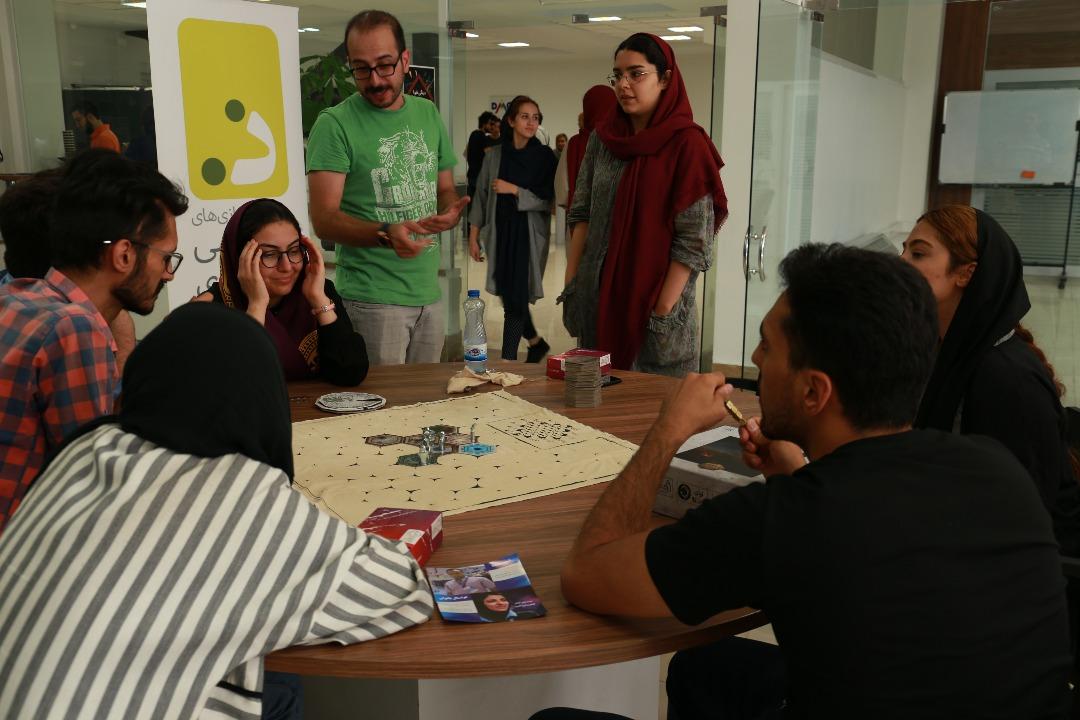 برگزاری رویداد game-day شتابدهنده دیموند